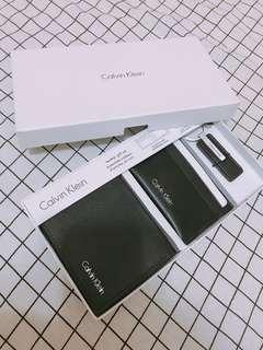 男裝CK銀包gift set