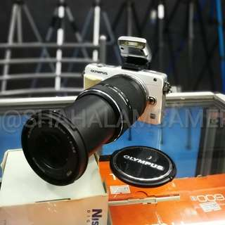 (USED) OLYMPUS PEN E-PM MIRRORLESS CAMERA + 40-150MM ZOOM LENS