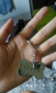 Hand-Stamped Customized Pet Tags