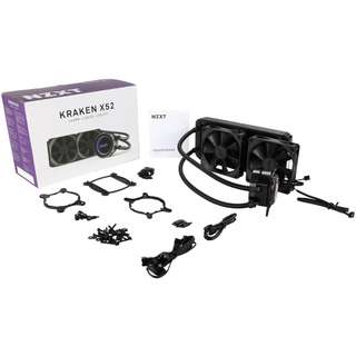 [CLEARANCE PRICE] NZXT Kraken X52 240mm High Performance Liquid Cooler with Lighting & CAM Controls