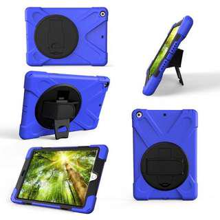 👶👧Kids-friendly 360-rotating Shockproof iPad Case w Sling