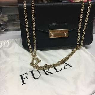 90%New Furla 2ways handbag