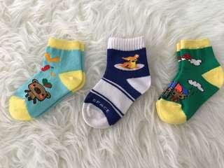 3 pcs baby socks