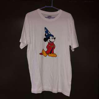 Pre-loved Uniqlo Sorcerer Mickey Shirt