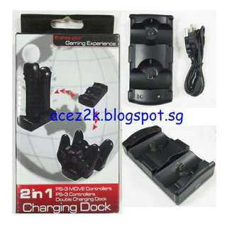 [BNIB] PS3 Dual Controller Charging Station (Brand New Boxed)