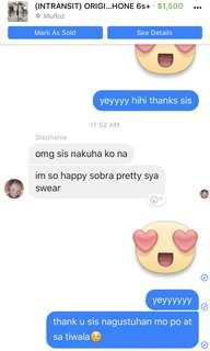 FEEDBACK FROM FB MARKETPLACE♥️