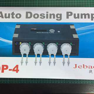 Jebao DP-4 Auto Dosing Pump 4 Channel