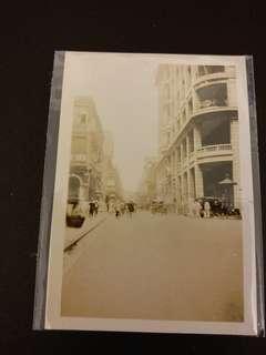 舊香港中環30'年代實照''