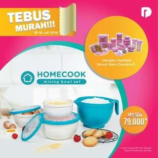 Beli Smart Mom Candituft bisa TEBUS MURAH Mixing Bowl Set Rp. 79rb   Total harga Ro. 358rb (Promo s/d tgl 18 Juli saja ya ....)