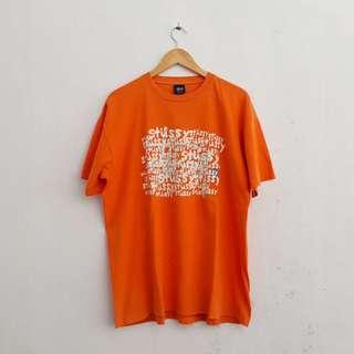 T-shirt Vintage Stussy not Bape Supreme