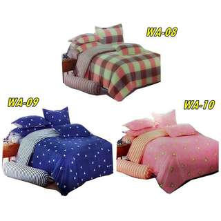 OFFER SET CADAR PATCHWORK 6 DALAM 1