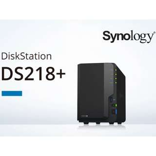 [CLEARANCE PRICE] Synology DiskStation DS218+ 2-Bay Diskless Network Attached Storage