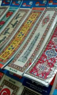 Turkish Woven Bookmarks