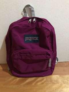 🚚 Jansport 後背包 紫色 出清賣 原價1300