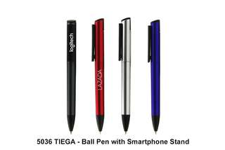 [Wholesale] TIEGA - Ball Pen with Smartphone Stand