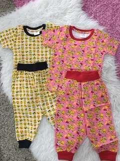 2 set baby pyjamas size 12-15 months