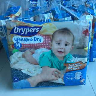 Drypers diapers bundle of 3 Packs