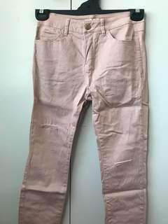 Light Pink Jeggings Jeans