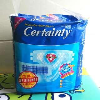 Certainty - Popok Dewasa