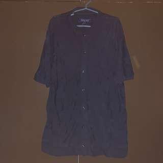 Pre-loved Zara Navy Blue Slim Fit Polo