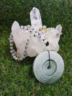 ⭐Pendant GradeA Myanmar Jade (母子扣)