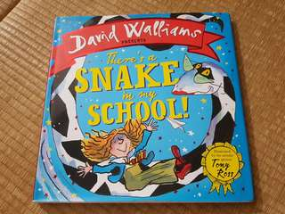 There's a snake in school by David Walliams