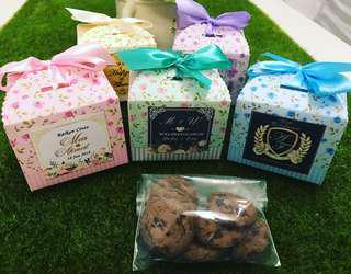 Chocolate Chips Cookies Doorgift & Berkat