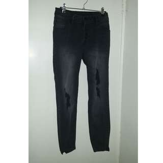 Ripped Jeans - Size 10-12