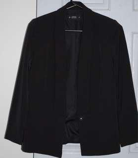 Black Tailored Jacket - Target EUC