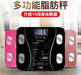需訂貨💡特價(頭20部只要$80) 多功能脂肪磅 15個功能,電池/充電款,3色可選,3部以上再9折,同朋友夾買更超值😁