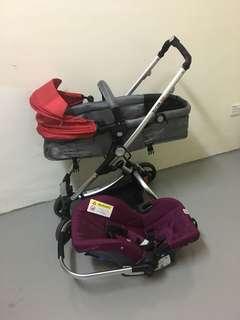 Stroller Sweet Cherry SCR 12 & Carseat SCR 7