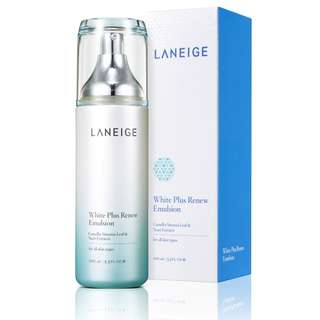(超值全新  NEW) Laneige White Plus Renew Emulsion 雪漾亮白補濕液