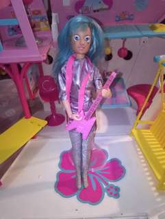 Asha from Gems rock band barbie size