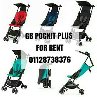 Sewa stroller gb pockit plus