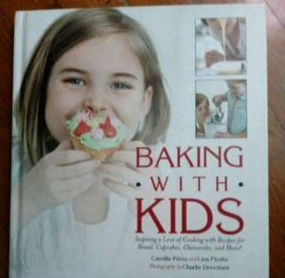 Baking with kids cookbook
