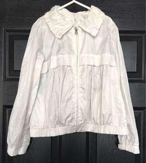 🌈Pre-loved White Thermal Jacket