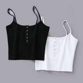 Cropped Button Cami