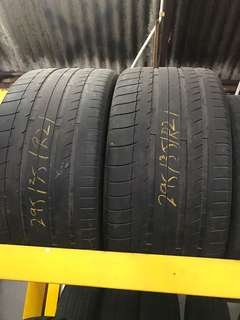 Used tayar 295/35/21 Michelin latitude N1 2pcs