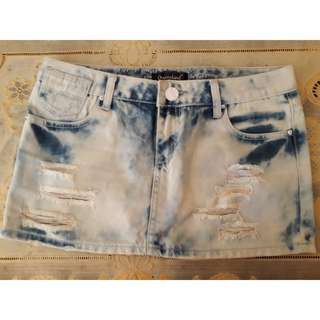 Rok jeans ripped Queensland / sz 28