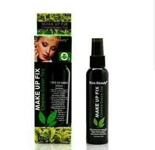 Kiss Beauty Makeup Fix Greentea