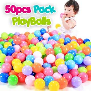 50PCS PACK PLAYBALL