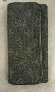 經典LV牛仔料銷匙包(長身款式~不議價)