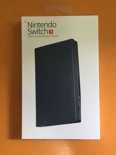 Nintendo Switch Case (Faux Leather Stand) in Navy Blue