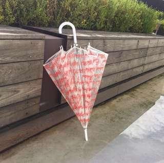 [限時代購]Red Velvet 透明直傘