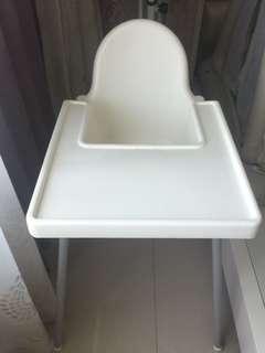 IKEA 餐椅 白色
