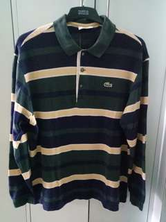 LACOSTE Top of the line long sleeves polo shirt (Original)