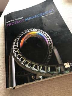 Project Management - Harvey Maylor
