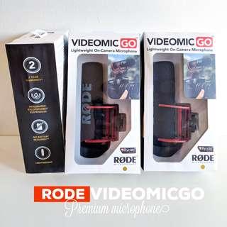 Original RODE VIDEOMICGO Microphone