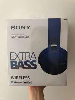 Sony Extra Bass Headphone wireless 耳機
