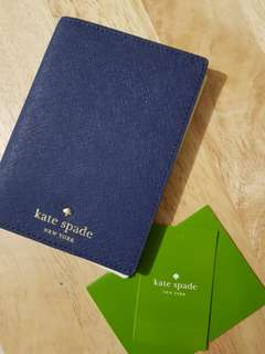 Authentic kate spade passport holder